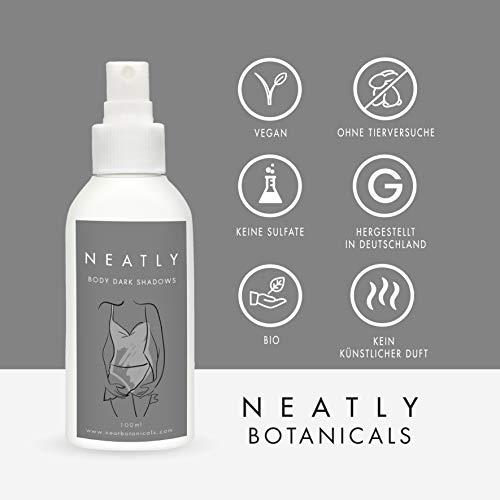 Dark spot corrector spray by NEATLY shadow remover | 100 ml spray bottle |  Organic skin care | Anti spot spray | Alternative to skin lightening cream