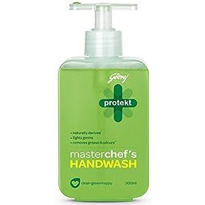 Godrej Protekt Masterchef's Germ Protection Liquid Handwash Bottle, 300ml