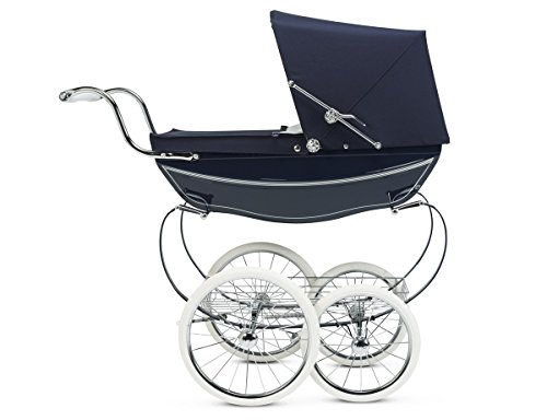Silver Cross Oberon Doll Pram Navy