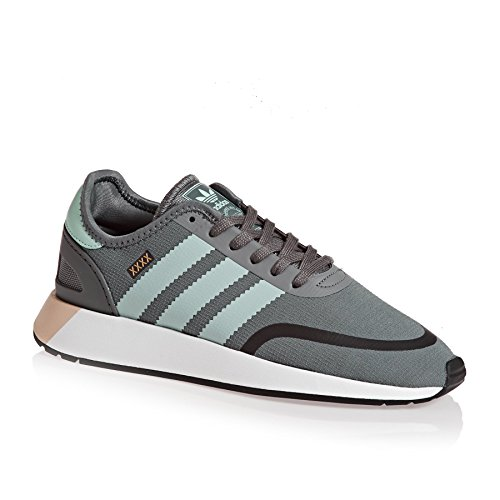 adidas Iniki Runner CLS, Sneakers Basses Femme Multicolore (Grefou/ashgrn/ftwwht Aq0266)