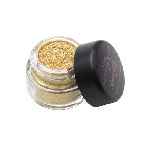 Barry M - Glitzerndes Lidschattenpuder - Fine Glitter Dust Nr. 10 - Yellow Gold (Goldgelb)