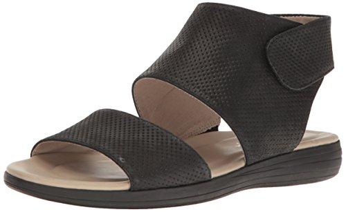 Naturalizer Women's FAE Flat Sandal Black