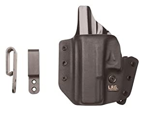 LAG Tactical Defender Holsters, Fits Glock 19/23/32, Left Hand, Black