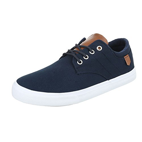 Ital-Design - Zapatos Hombre Dunkelblau FC-B029