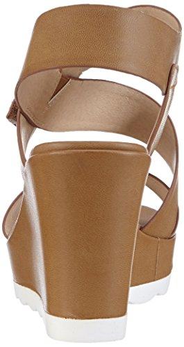 28395 vestir para material Sandalias 375 de Braun Tamaris sintético mujer marrón Antelope de 1dfxq