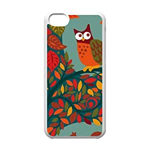 Blue Fall Animals iPhone 5c Cell Phone Case White DIY Present pjz003_6485042
