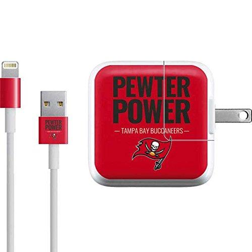 (Tampa Bay Buccaneers iPad Charger (10W USB) Skin - Tampa Bay Buccaneers Team Motto | NFL X Skinit Skin)