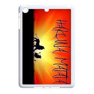 K-G-X Phone case For Ipad Mini 2 Case Case-Pattern-10 Hukuna Matata Quotes Protective Back Case