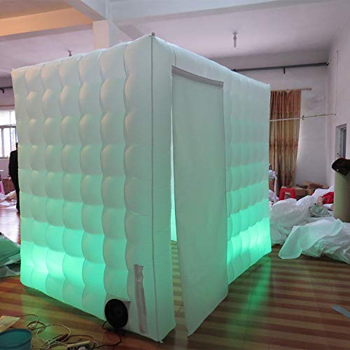 Inflatable Portable Photo Booth Backdrop - Inflatable Photobooth with Led Light Strip and Inner Air Blower Photo Booth Stand for Party, Wedding, Birthday, Halloween Decoration by AIRMAT FACTORY (Image #2)