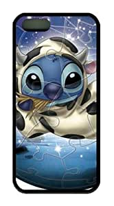 Stitch Lilo & Stitch Disney Cartoon DIY iphone 5s tpu black