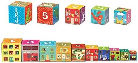 Cayro - Cubos apilables- Juego Tradicional - Desarrollo de Habilidades cognitivas - Juego de Mesa (873): Amazon.es: Juguetes y juegos