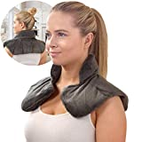 Sharper Image Neck and Shoulder Wrap Pillow Hot and Cold...