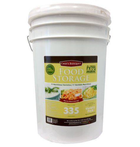 Chef's Banquet ARK Emergency Food Storage: 335 servings for sale  Delivered anywhere in Canada