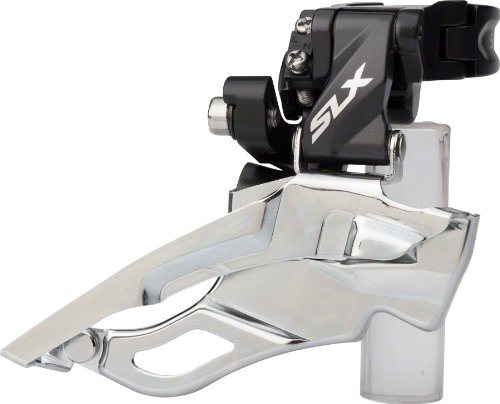 Shimano SLX M671 3x10 Multi-Clamp Down-Swing Top-Pull Front Derailleur (Clamp Front Derailleur Multi)