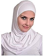 حجاب من القطن - قطعتين منفصلتين - نمط سوري من الاميرة