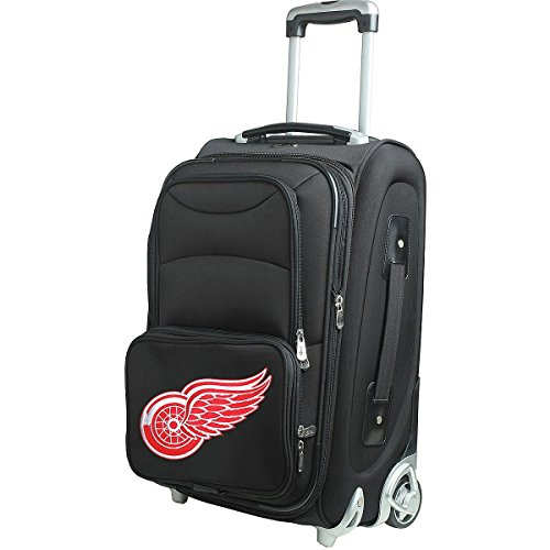 NHL Detroit Red Wings 21-Inch Carry-On by Denco