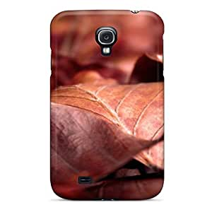 Henrydwd Perfect Tpu Case For Galaxy S4/ Anti-scratch Protector Case (nature Plants Dry Leaves)