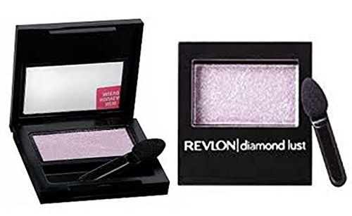 Pack of 2, REVLON Luxurious Color Diamond Luste Eye Shadow, Starry Pink #110, 0.028 Oz.