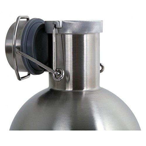 Alcraft Stainless Steel 64 Ounce Beer Growler, Silver by Alcraft (Image #2)