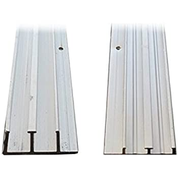 Amazon Com 1 4 Quot X 4 Aluminum Sliding Door Track Home