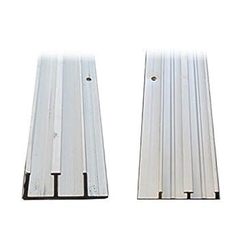 1/4u0026quot; X 4u0027 Aluminum Sliding Door Track  sc 1 st  Amazon.com & Amazon.com: 1/4