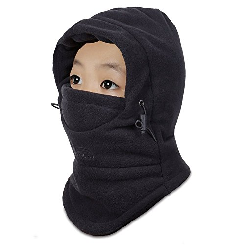Children's Kids Balaclava Outdoor Hats Winter Warm Face Cover Cap (Cap Balaclava)