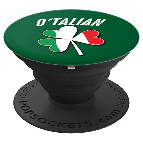 (O'Talian Art | Cute Irish St. Patrick's Day Funny Gift - PopSockets Grip and Stand for Phones and)