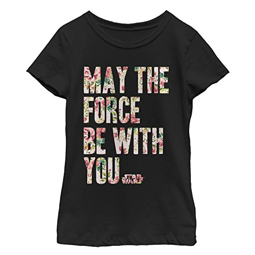 Star Wars Girls' Big, Black//with You, Small ()