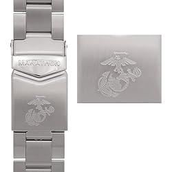 MARATHON WW005007USMC Men's USMC Stainless Steel Watch Band 22mm