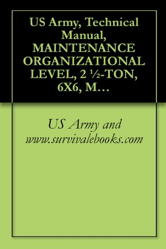 US Army, Technical Manual, MAINTENANCE ORGANIZATIONAL for sale  Delivered anywhere in USA