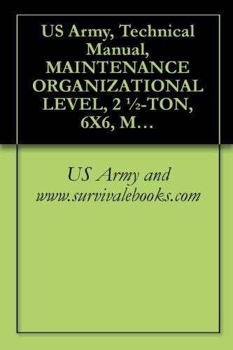 1980 army air force m35a1 m35a2 c m36a2 truck operator & service.