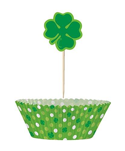 Shamrock Saint Patrick's Day Cupcake Kit for 24 for $<!--$3.79-->