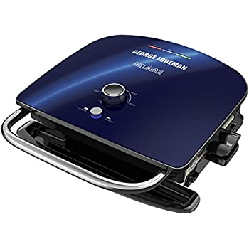 Amazon.com: George Foreman 4-Serving Removable Plate Grill ...
