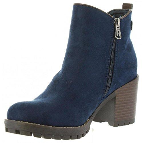 Mujer para Chelsea Azul 063885 Botas Refresh wEq6xSItq