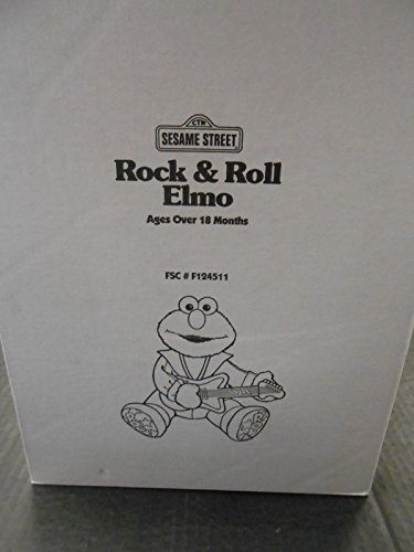 Roll Elmo (1997 Rock Roll Elmo Sesame Street new MIB)