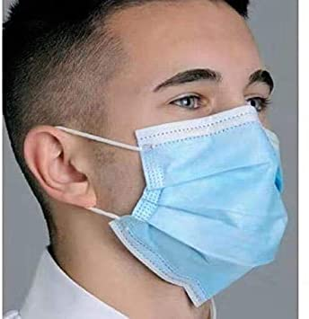 Disposable Mouth Masks 2 pcs Nose Mask Dust Mask Pollution Mask (Color May Vary)