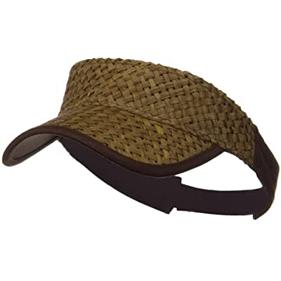 MG Straw Trucker Visor