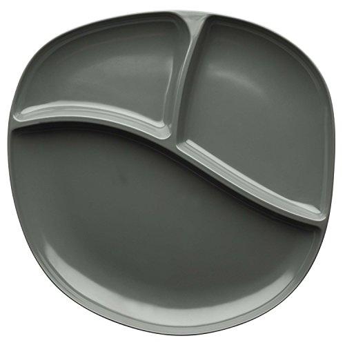 Zak! Designs Moso Divided Plate, 100% Natural Materials and BPA-free, 10.5