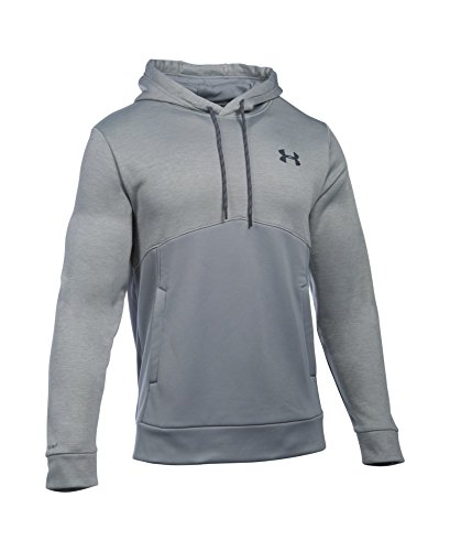 Under Armour Men's Storm Armour Fleece Twist Hoodie, Steel/Steel, Small by Under Armour (Image #3)