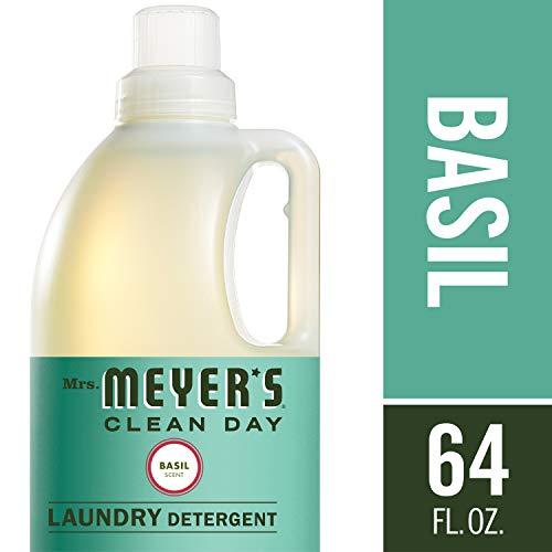 Mrs. Meyer's Laundry Detergent, Basil, 64 fl oz