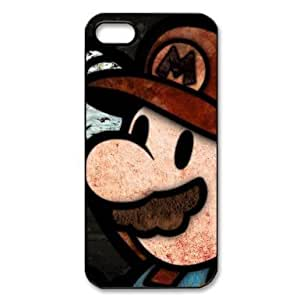 Your own custom Patterned Games Super Mario iPhone 5 Case, personalized Super Mario iphone 5 cover