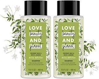 Love Beauty & Planet - Coconut Milk and White Jasmine Divine Definition Shampoo 13.5 fl oz - 2-PACK