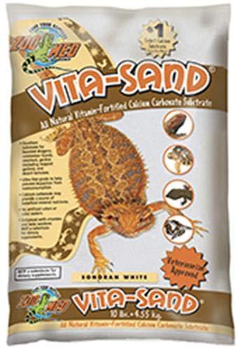 Zoo Med Vita Sand, 10 Pounds, White ()
