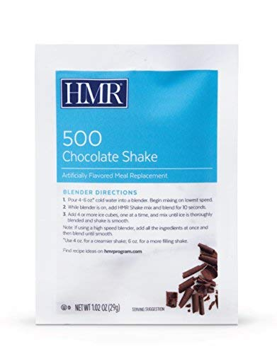 HMR 500 Chocolate Shake Triple Pack, Meal Replacement, 100 Calories, 3 Boxes of 18 Servings by HMR (Image #1)