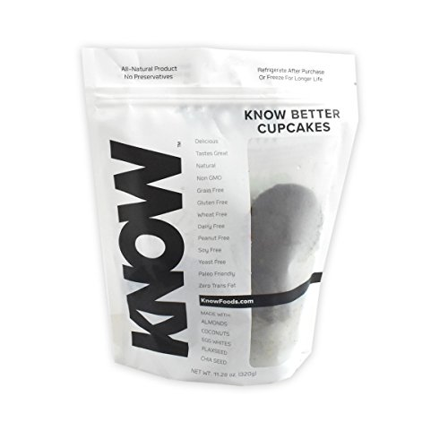 KNOW Better Bread Cupcakes, 4 Count