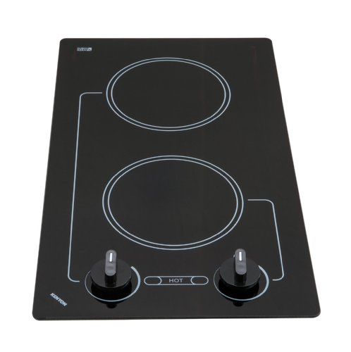 Kenyon B41601 6-1/2-Inch Caribbean 2-Burner Cooktop with Analog Control UL, 120-volt, Black ()