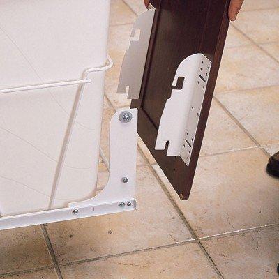 Rev A Shelf Rsrv.Dm.Kit.100 Door Mount Kit For Rv Series Pull-Out Waste Bins - White