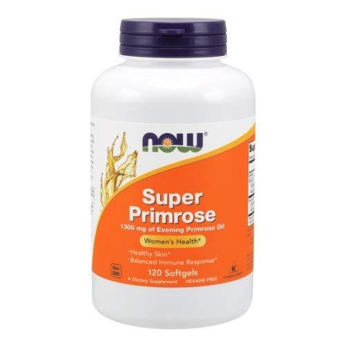 Now Foods Super Primrose 1300mg, 120 gels ( Multi-Pack)