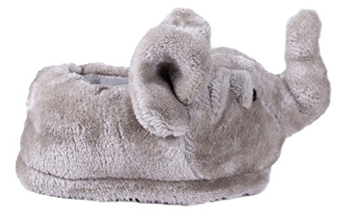 Happy Feet 50+ Styles - Premium Full Foot Mens and Womens Animal Slippers Elephant - Top Seller CVBDn4A