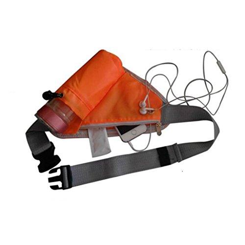Black Marsupio Outdoor colore Orange Antifurto Joker Sports Liu WYO1AvcO